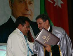Rektör Güven'e Fahri Doktora