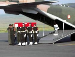 Şehidin cenazesi Kars'a getirildi