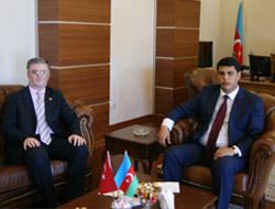 Doğan'dan Süleymanov'a Ziyaret