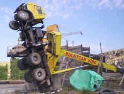 Baraj İnşaatında İlginç Kaza