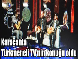 Başkan Türkmeneli TV'nin konuğu