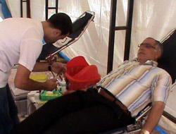 Kağızman'da Kan Bağışı
