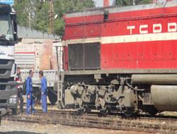 Sarıkamış'ta yük trenine bombalı saldırı