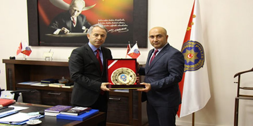 Guliyev'den Emniyet Müdürü Bitirik'e ziyaret
