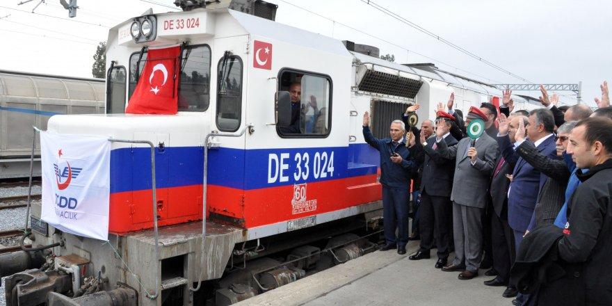 Türkiye'den ilk tren yola çıktı