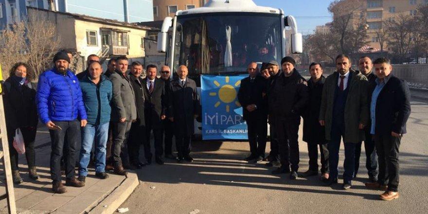 İYİ Parti Kars Kurucu İl Teşkilatı Artvin'de