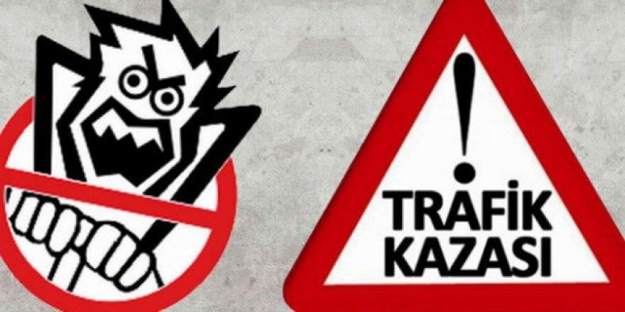Sarıkamış'ta trafik kazası: 5 yaralı