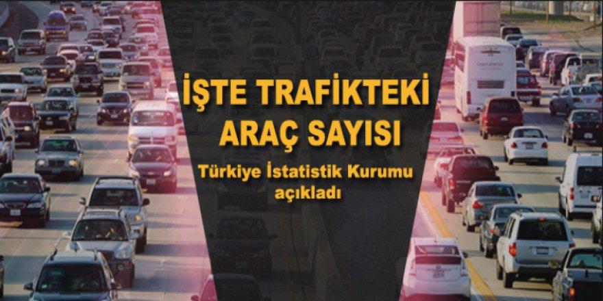 Kars'ta trafiğe kayıtlı araç sayısı 45 bin 672