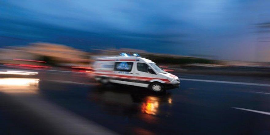 Kars'ta kanala düşen bir kişi yaralandı