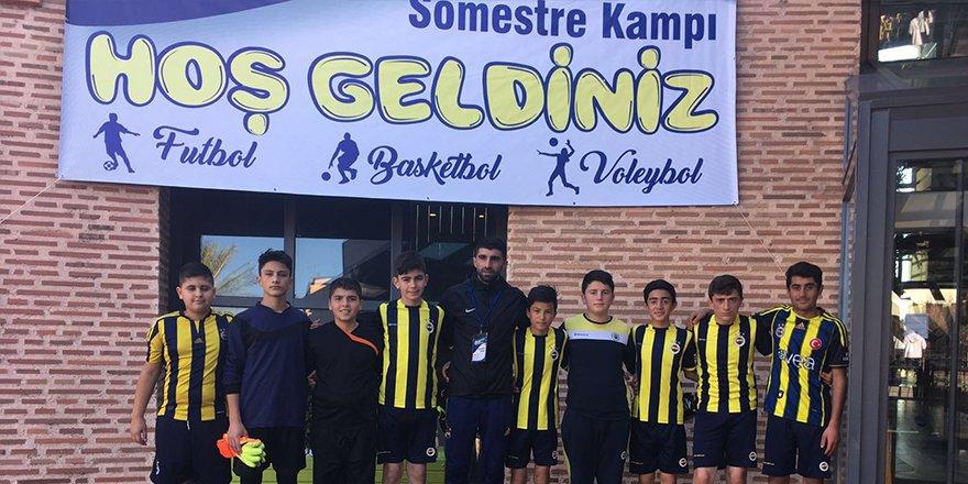 Kars Fenerbahçe Futbol Okulu Antalya Kampında