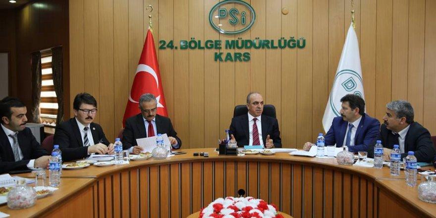DSİ Kars 24. Bölge Müdürlüğü'ne Mahmut Dündar Atandı