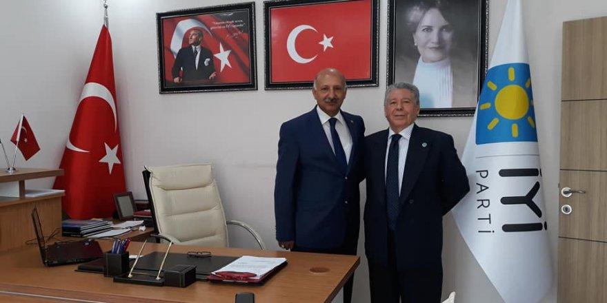 Sultan Ali Yıldız, İYİ Parti'ye katıldı