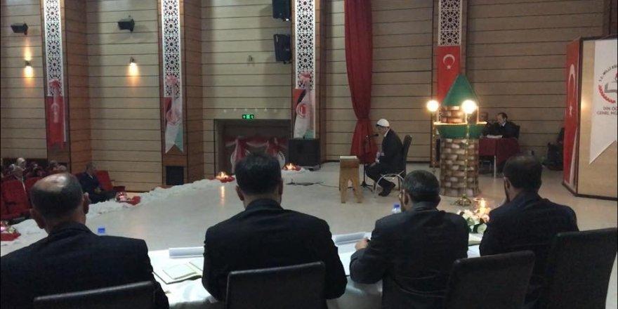 Kars Anadolu İmam Hatip Lisesi öğrencisi Halil Toptaş üçüncü oldu