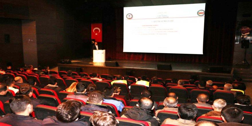 """""""Seçim Güvenliği ve Propaganda Esasları"""" konulu eğitim semineri"""