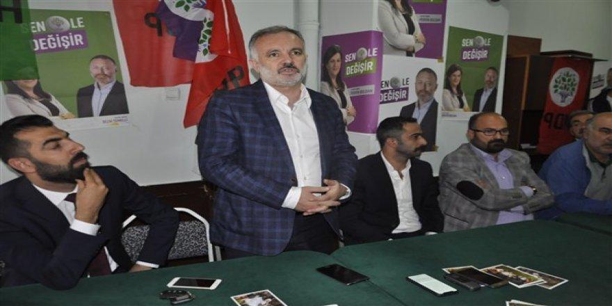"""HDP Sözcüsü Bilgen: """"Seçim çalışmalarımızı hiçbir gerilim ve polemiğe girmeden sündüreceğiz"""""""