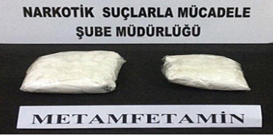 Kağızman'da uyuşturucu ele geçirildi