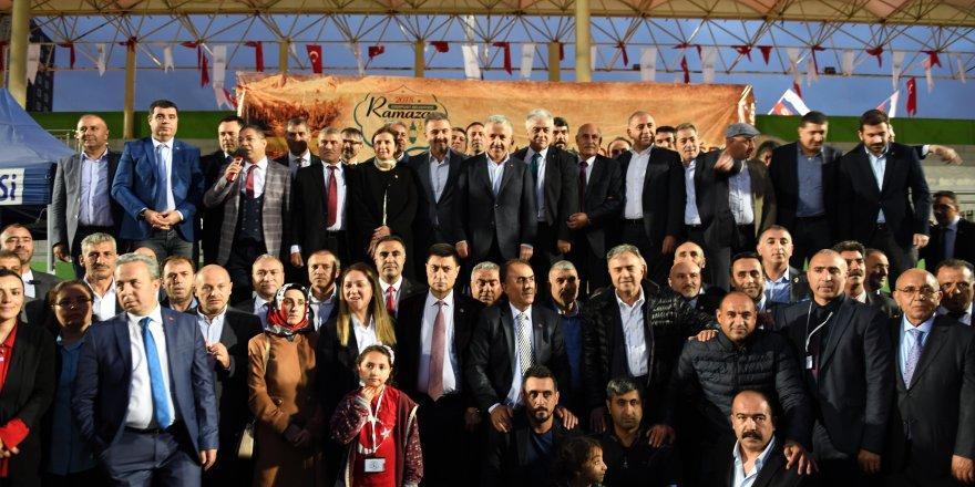 """Bakan Arslan; """"Birliğimizin, beraberliğimizin timsali ve en güzel göstergesi Türkiyeli olmak"""""""