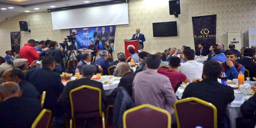 AK Parti'den 'Vefa' iftar yemeği!