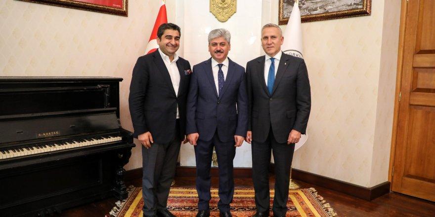 Macaristan'ın Ankara Büyükelçisi Gabor Kiss Kars'ta
