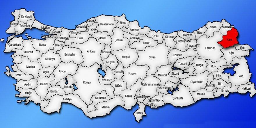 Kars'ta TÜFE yüzde 0,45 arttı