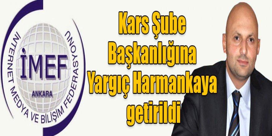 İMEF Kars Şube Başkanlığına Yargıç Harmankaya getirildi