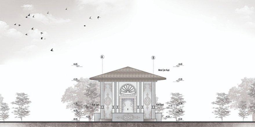 Kars'ta Vali Lala Mustafa Paşa Çeşmesinin inşaatı başladı