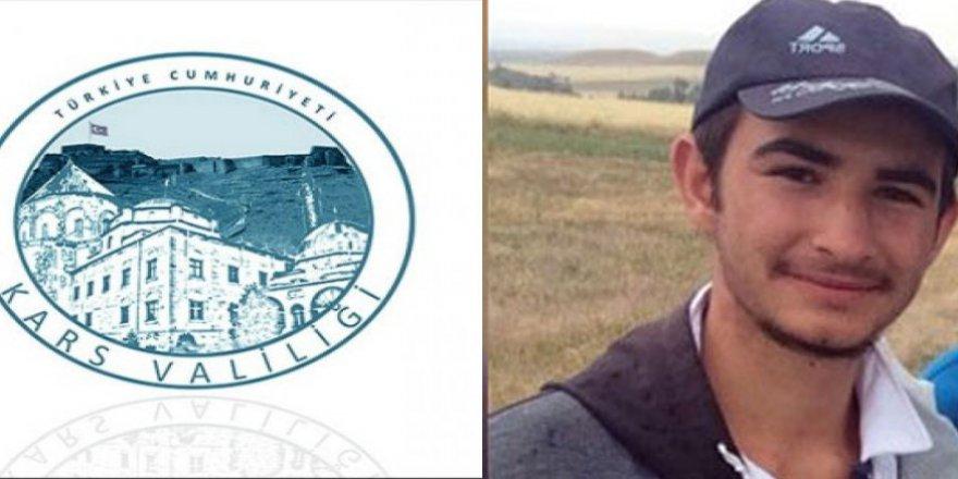 Kars Valiliği'nden Umut Ali Özmen hakkında açıklamaErmenistan'da tutuklu bulunan Umut Ali, Pazartesi günü Türkiye'ye teslim edilecek