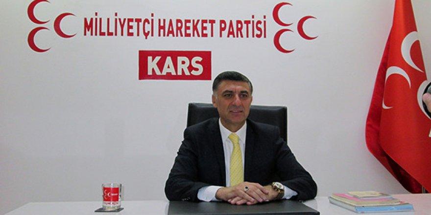 Çetin Nazik,MHP Kars Belediye Başkan Aday Adayı