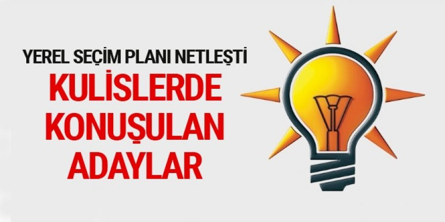 Kulislerde Kars'ın AK Parti Kars Belediye Başkan Aday Adayları