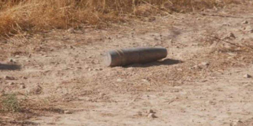 Sarıkamış'ta top mermisi bulundu