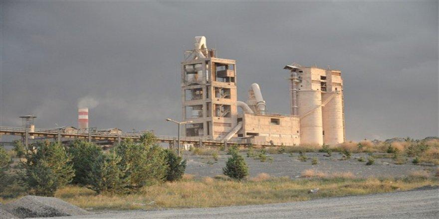 Kars Çimento Fabrikasında üretim durdu