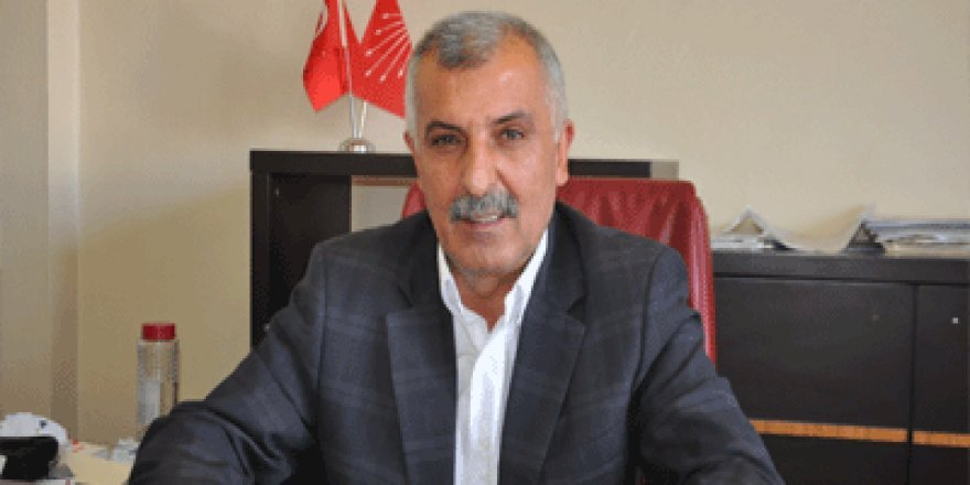 CHP İl Başkanı Mustafa Aras'tan Açıklama
