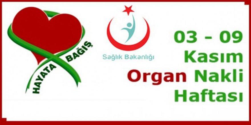 Kars Sağlık Müdürlüğünden Organ Bağışı Haftası açıklaması