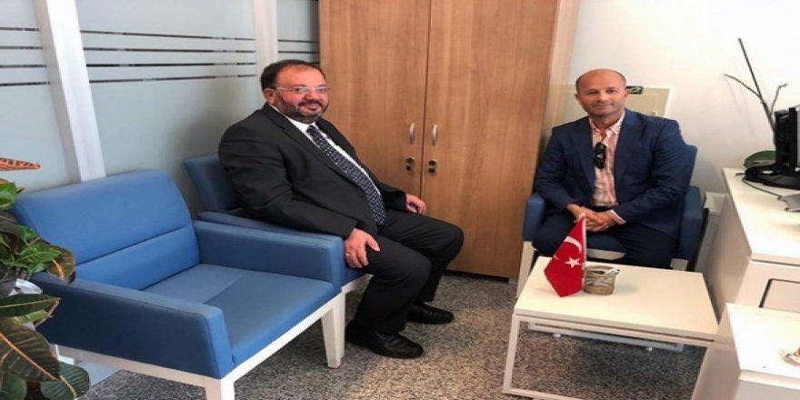 Belediye Başkan A. Adayı Özbey, muhtarhaberleri.com'u ziyaret etti