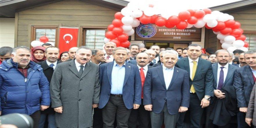 Kars Ardahan Iğdır Dernekleri Federasyonu Kültür Merkezi açıldı