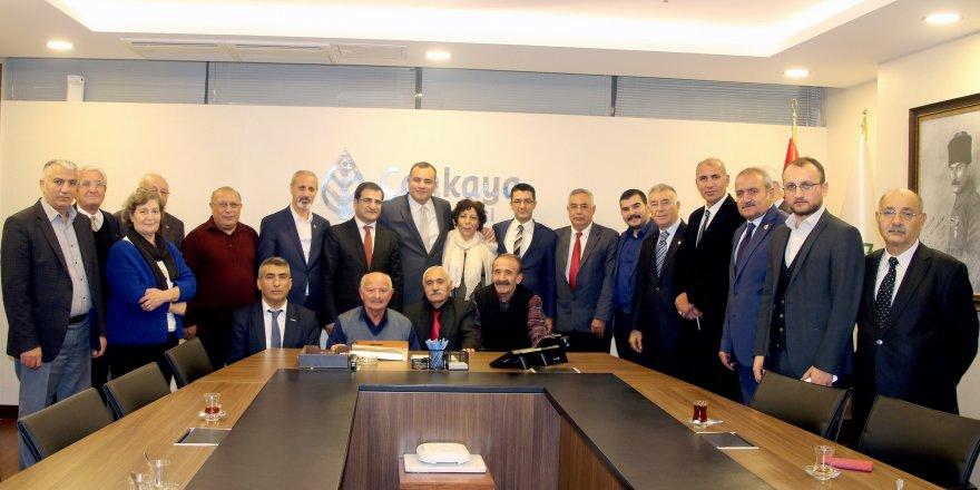 Çankaya Belediye Başkanı Taşdelen Karslıları ağırladı