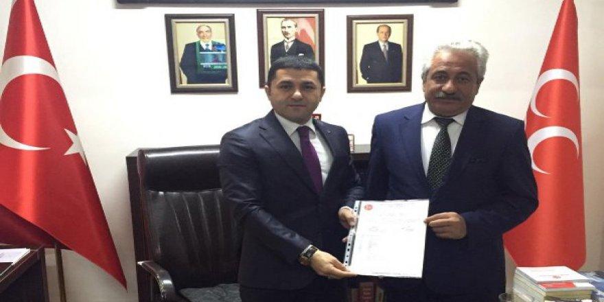 MHP Sarıkamış İlçe Başkanlığı'na Yavuz Yıldırım Atandı