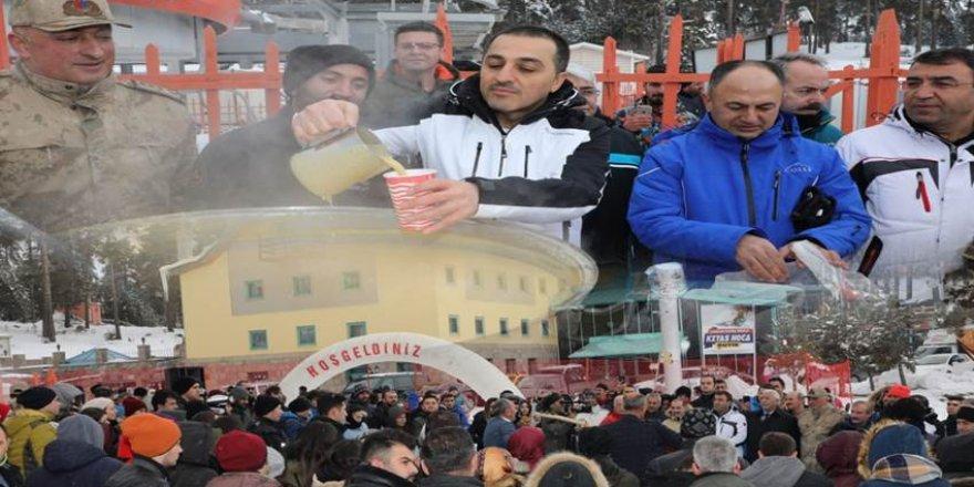 """Sarıkamış Kayak Merkezi yeni sezona """"Merhaba"""" dedi"""