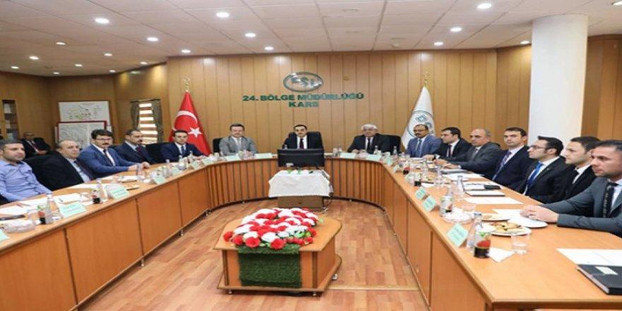 Kars'ta Aras Havzası Yönetim Heyeti toplantısı yapıldı