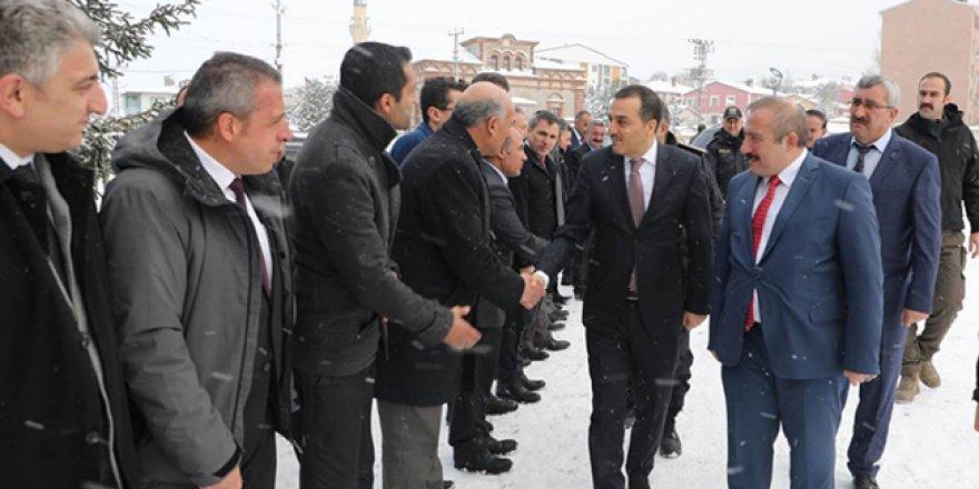 Kars Valisi Türker Öksüz, Sarıkamış'ta