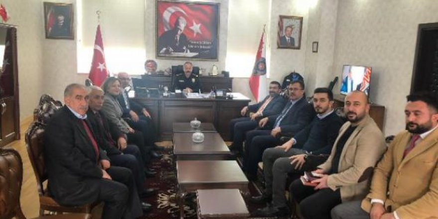 AK Parti heyeti Kurum Müdürlerini ziyaret etti