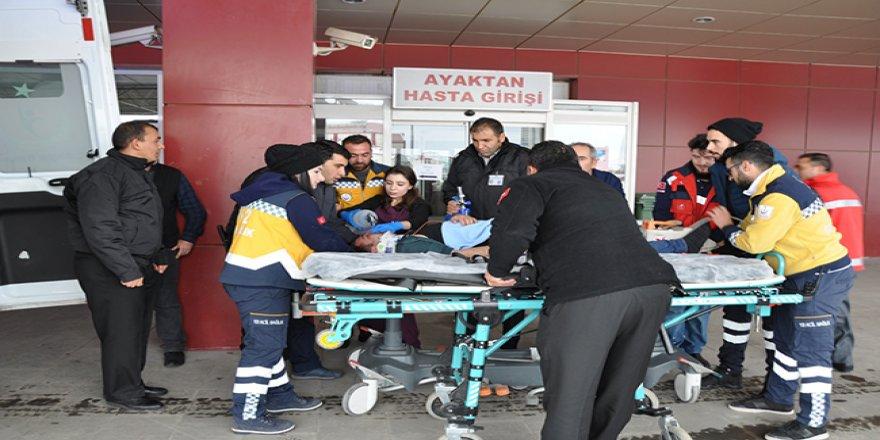 KAÜ Araştırma Hastanesinde Afet Planı Tatbikatı gerçekleştirildi