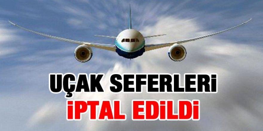 Kars'ta uçak seferleri iptal edildi