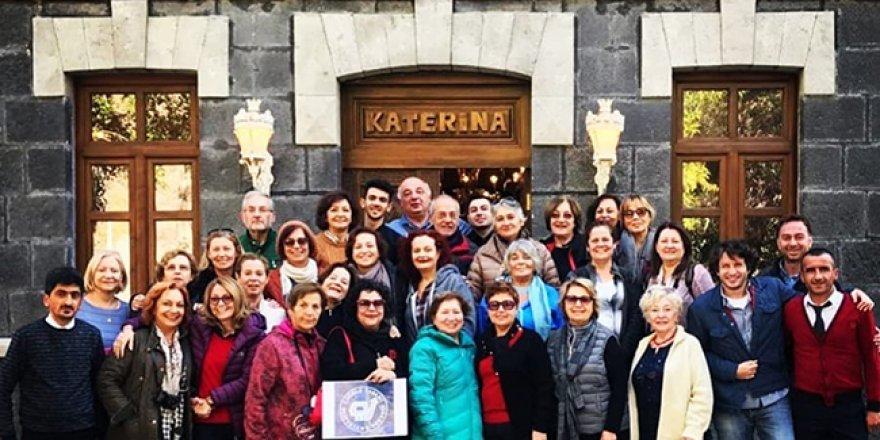 Hotel Katerina Sarayı, şehrin tanıtımına büyük katkı sağlıyor