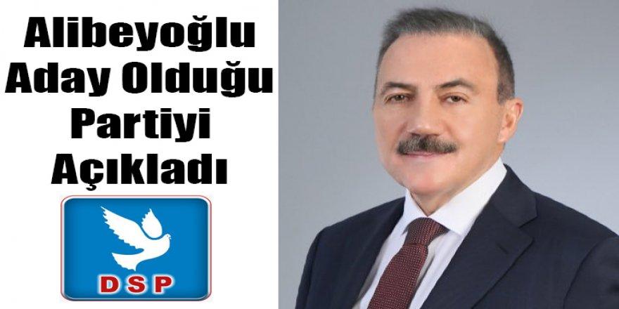 Naif Alibeyoğlu DSP'den Kars Belediye Başkan Adayı oldu