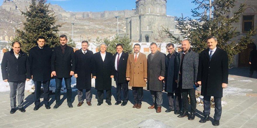 Vedat Demiröz Kars'a geldi
