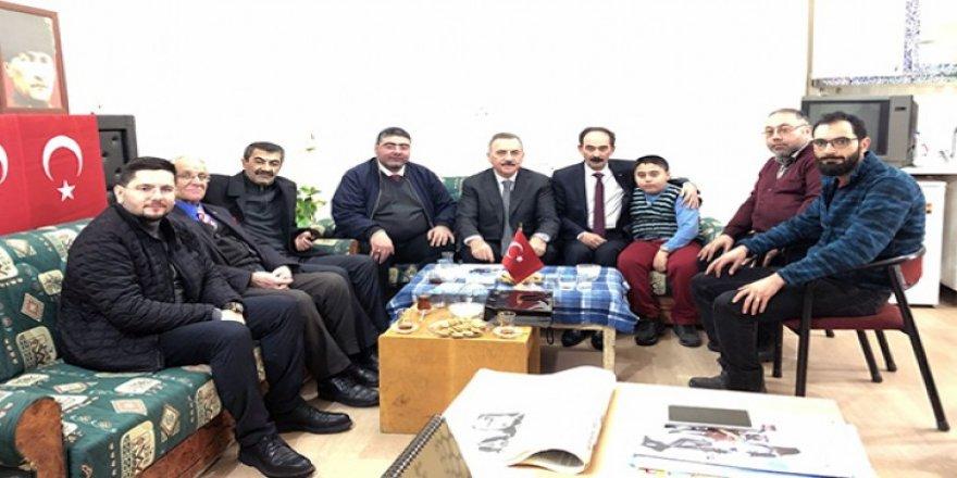 DSP Adayı Naif Alibeyoğlu, Gazeteciler Cemiyetini ziyaret etti