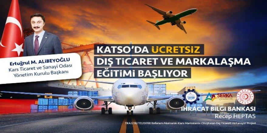 KATSO'da ücretsiz dış ticaret ve markalaşma eğitimi başlıyor