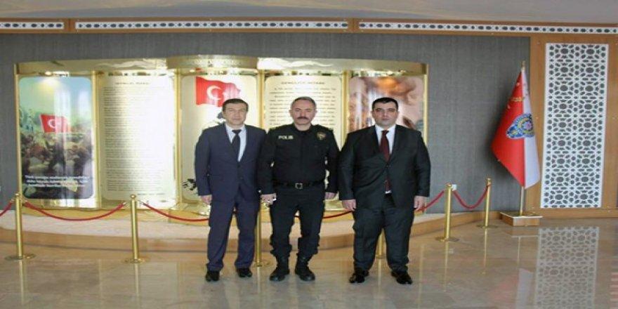 Başsavcılar, Kars İl Emniyet Müdürü Ümit Bitirik'i ziyaret etti