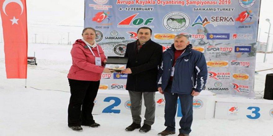 Avrupa Kayakla Oryantiring Şampiyonası (ESOC-2019) madalya töreni